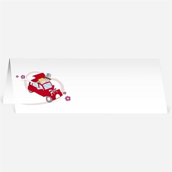 Marque-place mariage En route vers notre Bonheur réf.N440337