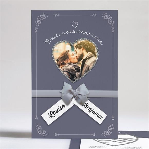 Faire-part mariage Les Amoureux réf.N24165