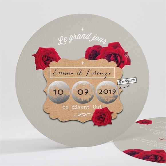 Faire-part mariage La surprise réf.N32158