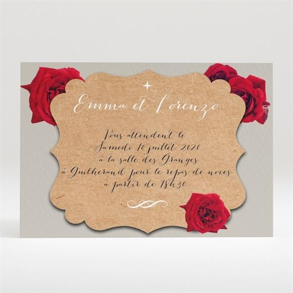 Carton d'invitation mariage La surprise réf.N120265