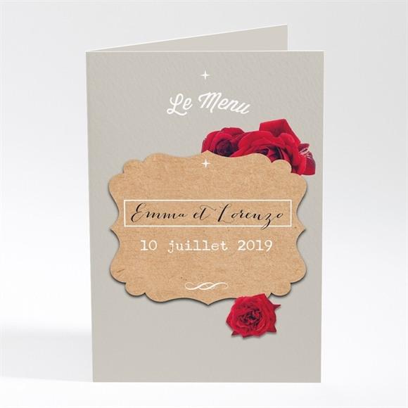 Menu mariage La surprise réf.N401397