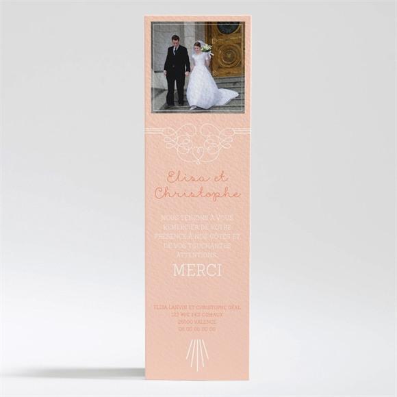 Remerciement mariage Pastel surprise réf.N200294
