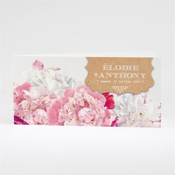 Faire-part mariage Floral réf.N43138