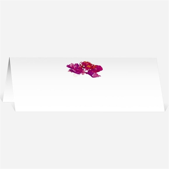 Marque-place mariage Floral réf.N440345