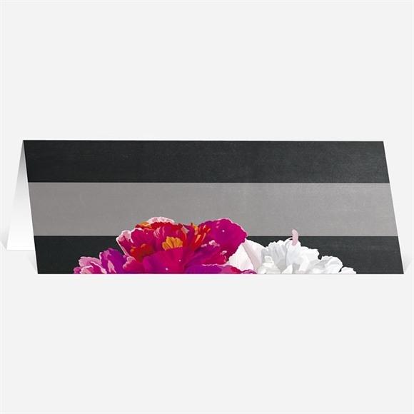 Marque-place mariage Fleurs modernes réf.N440349