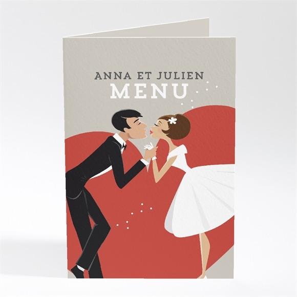 Menu mariage Humour et romantisme réf.N401421