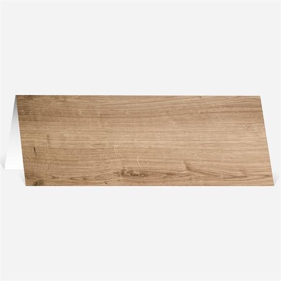 Marque-place mariage Fond en bois réf.N440365