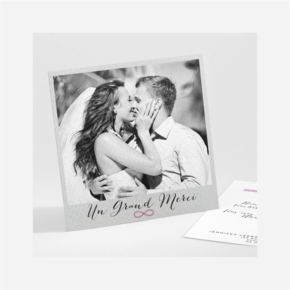 Remerciement mariage On s'unit réf.N30116