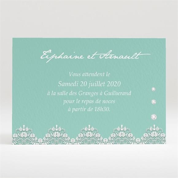 Carton d'invitation mariage Strass et paillettes réf.N120294