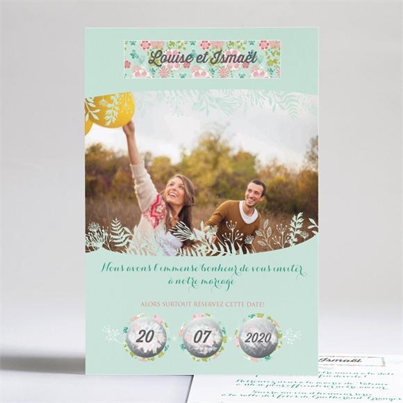 Faire-part mariage Le Printemps réf.N24169