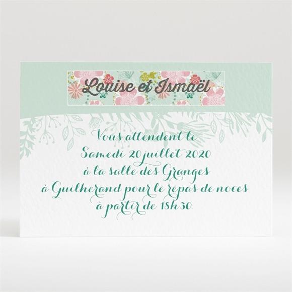 Carton d'invitation mariage Le Printemps réf.N120299