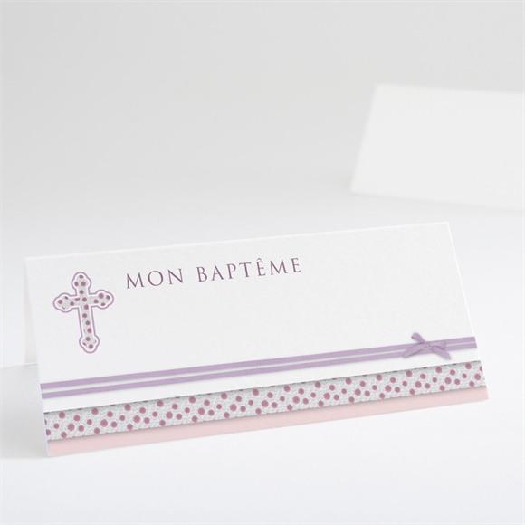 Marque-place baptême Simple et épuré réf.N440386