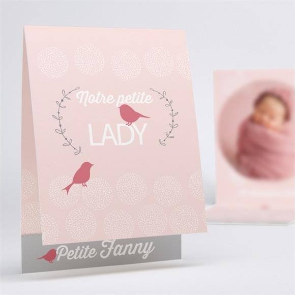 Faire-part naissance Notre petite Lady réf.N50149