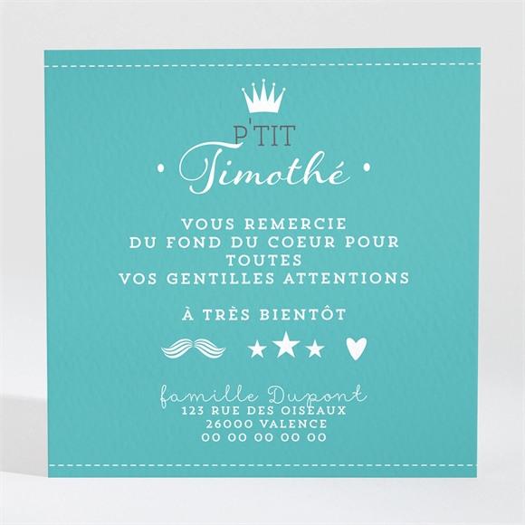 Remerciement naissance Bienvenue Petit Prince réf.N300391