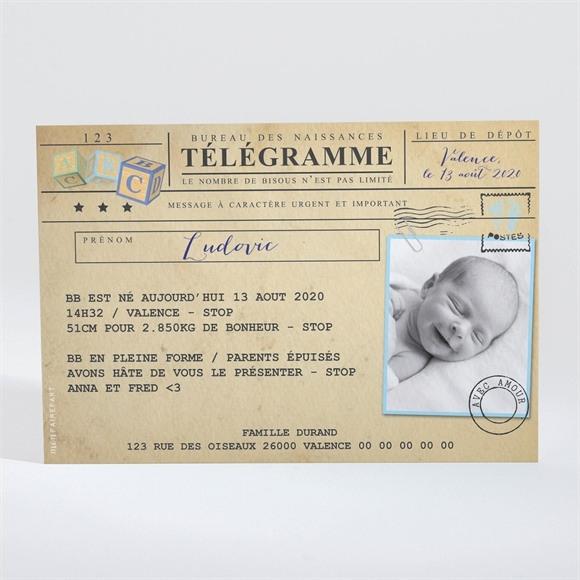 Faire Part Naissance Passeport Pour Bébé Monfairepart Com
