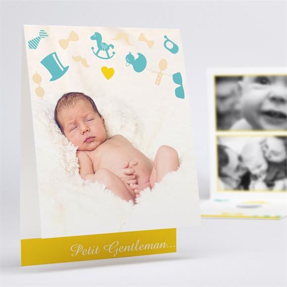 Faire-part naissance Petit Gentleman réf.N50154