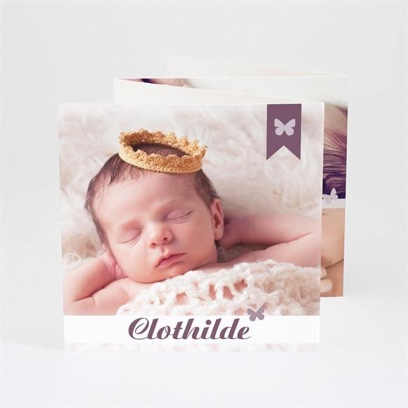 Faire-part naissance Simple et créatif réf.N83024