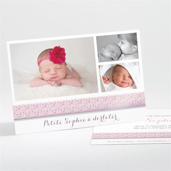 Faire-part naissance Chic et simple réf.N11154