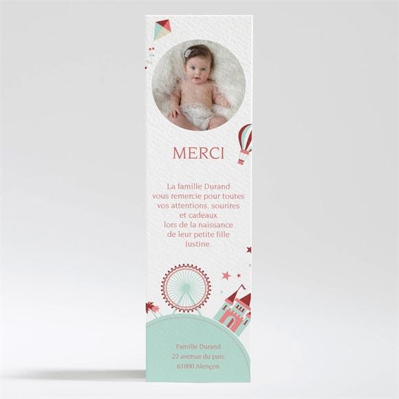 Remerciement naissance Autour de bébé réf.N200325