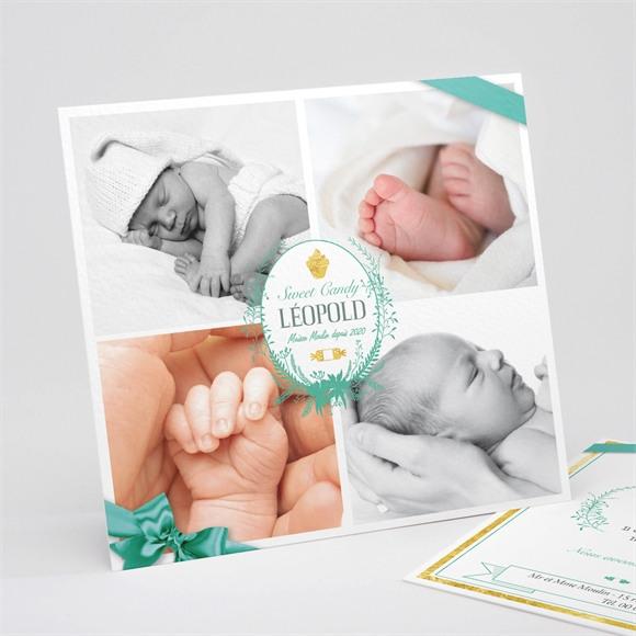Faire-part naissance multi photos naissance réf.N311117