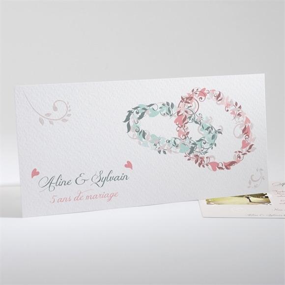 Invitation anniversaire de mariage Notre Alliance réf.N13134