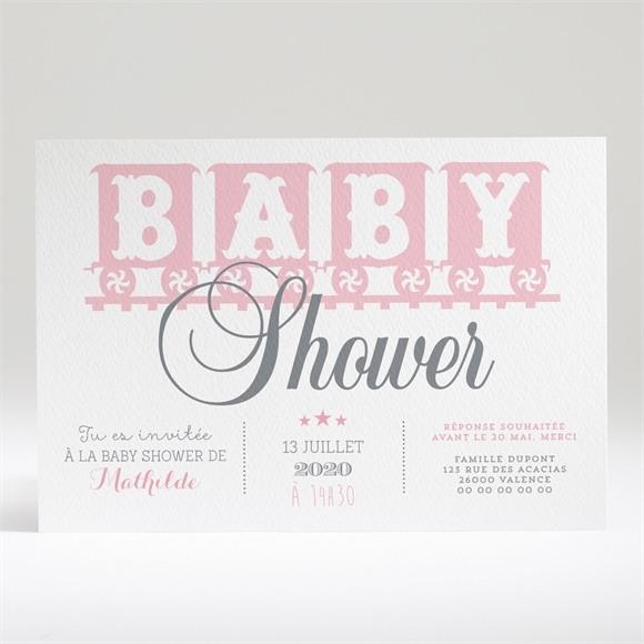 Faire-part baby shower La Vie réf.N14029