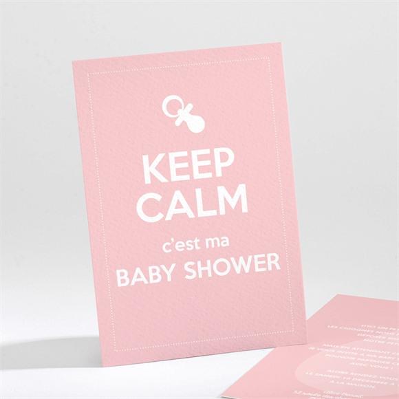 Faire-part baby shower Pop enfantin réf.N21185