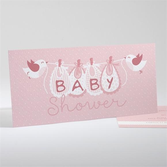 Faire-part baby shower Mon bébé réf.N13138