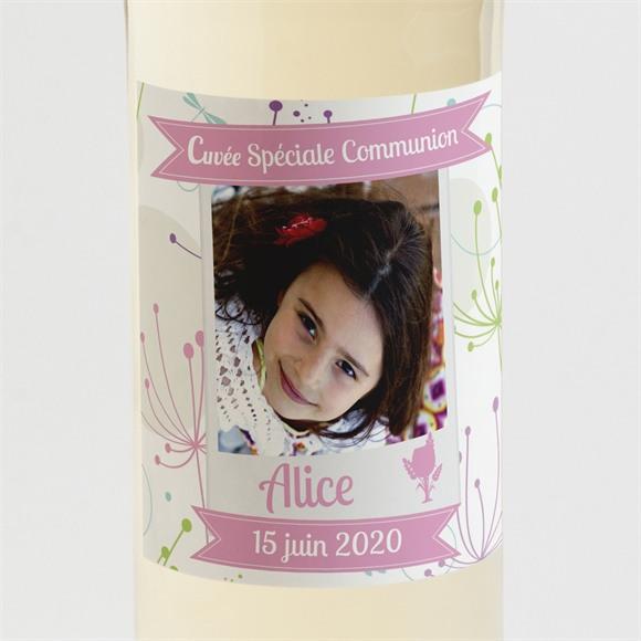 Etiquette de bouteille communion Mon annonce photo réf.N300508