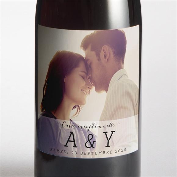 Etiquette de bouteille mariage réf. N300553 réf.N300553