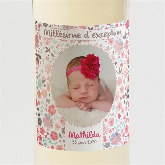 Etiquette de bouteille naissance Mon petit choux! réf.N300573