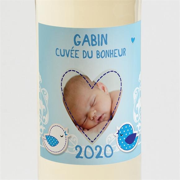 Etiquette de bouteille naissance réf. N300576 réf.N300576