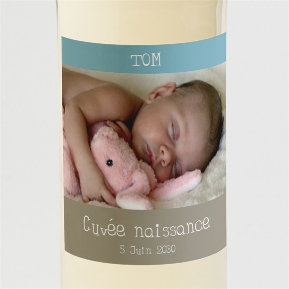 Etiquette de bouteille naissance réf. N300581 réf.N300581