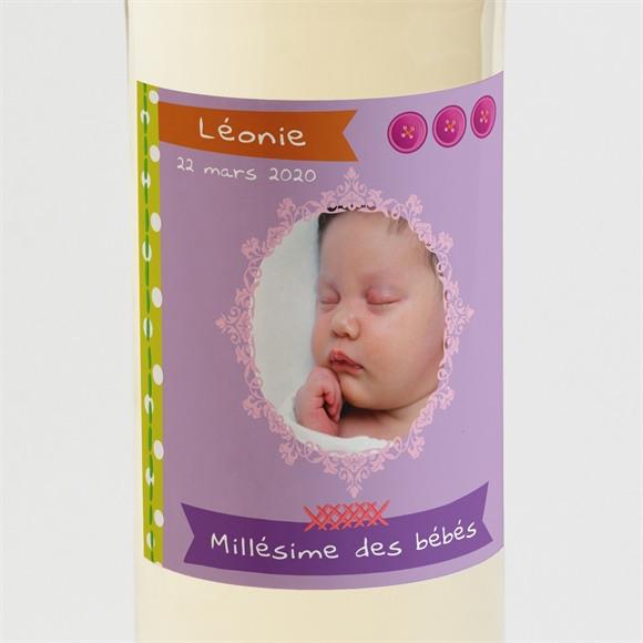 Etiquette de bouteille naissance réf. N300592 réf.N300592