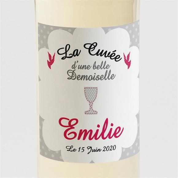 Etiquette de bouteille communion Le Calice réf.N300603