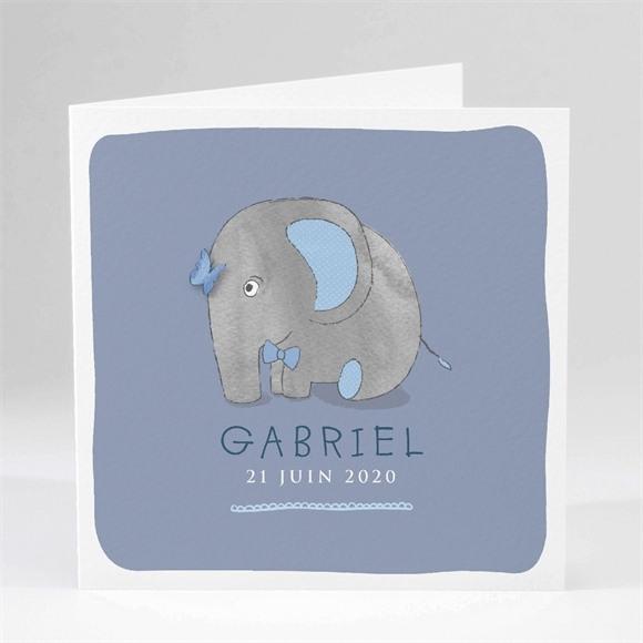 Faire-part naissance Elephant réf.N45101