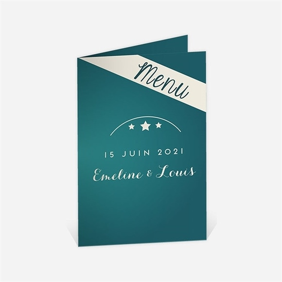 Menu anniversaire de mariage La machine à sous ! réf.N401519