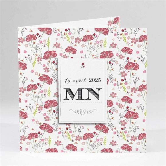 Faire-part mariage Motifs Liberty réf.N45112