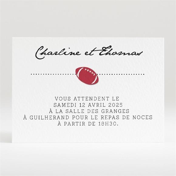 Carton d'invitation mariage Essai transformé ! réf.N120312