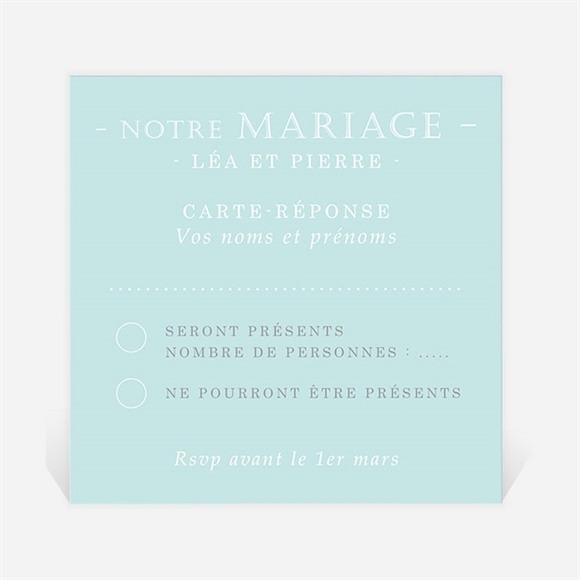 Carton réponse mariage Photo Handball réf.N300644
