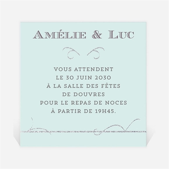 Carton d'invitation mariage Shining ! réf.N300646