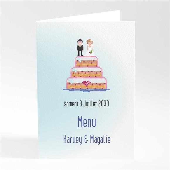 Menu mariage Le gâteau des mariés réf.N401535