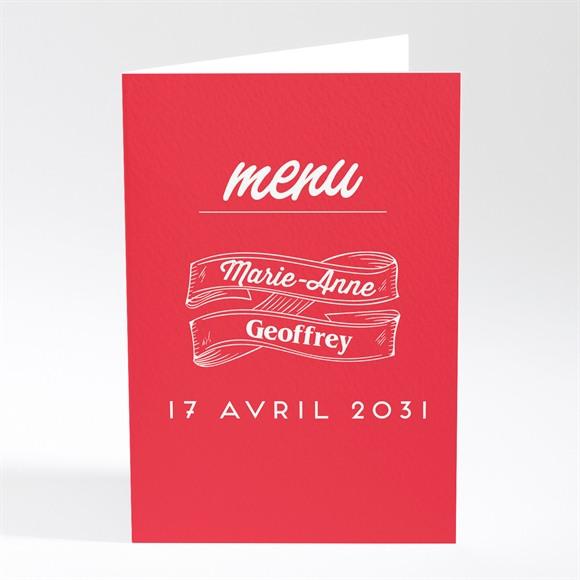 Menu mariage La Mélodie du Bonheur réf.N401540