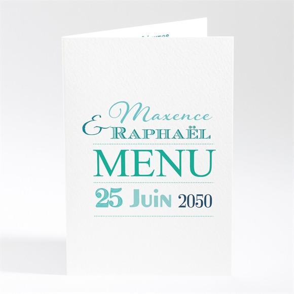 Menu mariage Jeu de typographies réf.N401542