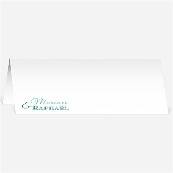 Marque-place mariage Jeu de typographies réf.N440425