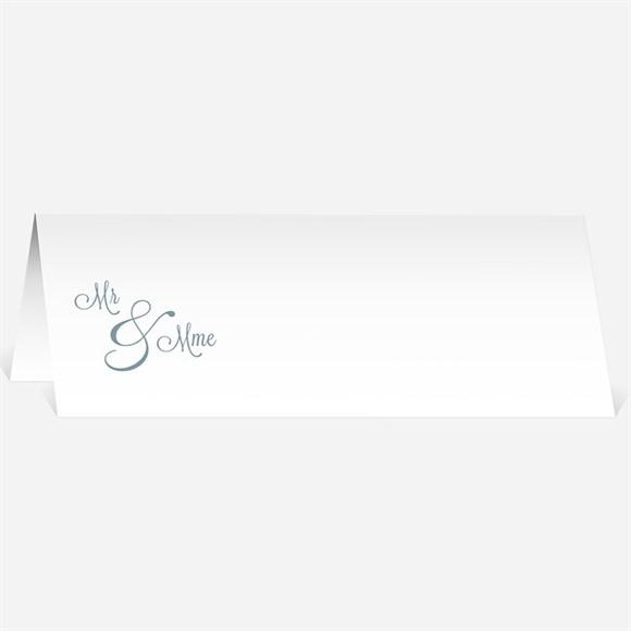 Marque-place mariage Mr & Mme réf.N440428
