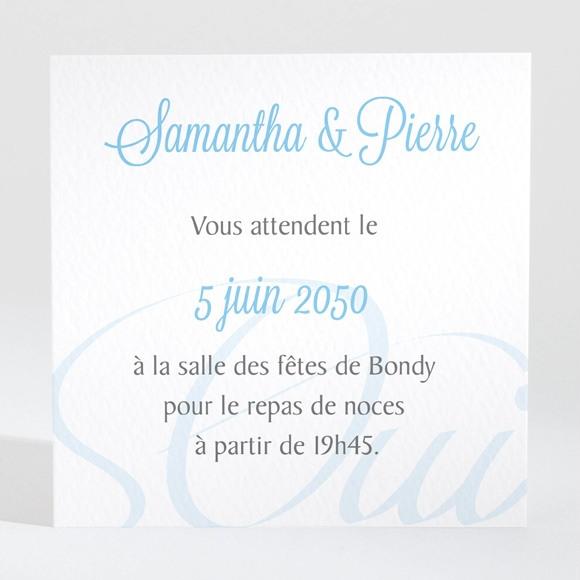 Carton d'invitation mariage L'union réf.N300677