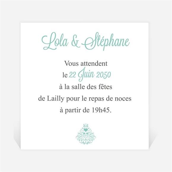 Carton d'invitation mariage Pour une annonce originale réf.N300692