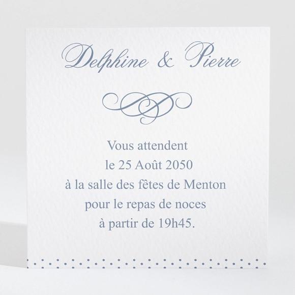 Carton d'invitation mariage Origami original réf.N300695