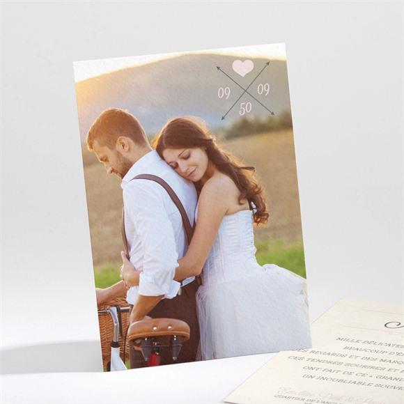 Remerciement mariage Multi facettes réf.N21193